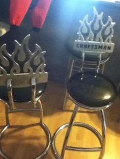 Craftsman Flame Bar stools in Jennifer74's Garage Sale Tullytown, PA for $75.00