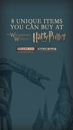 Looking for amazing finds in The Wizarding World of Harry Potter in Universal Orlando? We've got you covered with these items from Diagon Alley in Universal Studios Florida and Hogsmeade in Islands of Adventure. You'll want to take home everything on your next vacation! #OrlandoResortislandofadventure