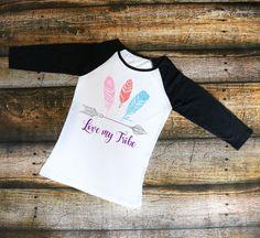 Love My Tribe-Women's Raglan shirt, T-Shirt, Tank top