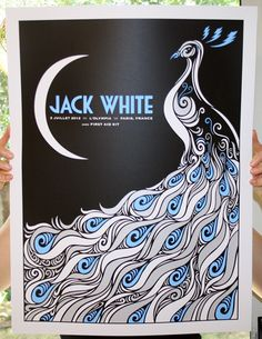 GigPosters.com - Jack White - First Aid Kit - L'Olympia 02/07/2012