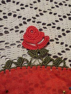 Crochet Turkish OYA - ROSE