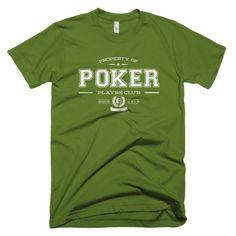 The PLAYRS Club Men's Poker T-Shirt – Light