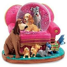 Disney Snow Globes, Mixed Disney Characters Snow Globes | Orlando Inside