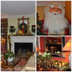 Holiday decorating ideas Biltmore Forest [Asheville, NC] style!