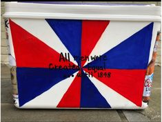 COOLERSbyU Painted Cooler Examples | All men were created equal SAE | Tags: sae, sigma alpha eplison, fraternity, formal, cooler Fraternity Formal, Fraternity Coolers, Painted Coolers, Cooler Painting, Alpha Sigma Alpha, Painting Inspiration, Tags, Men, Guys