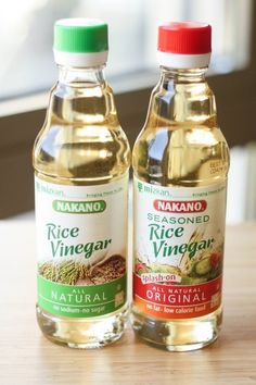 What's the Difference Between Rice Vinegar and Seasoned Rice Vinegar? — Ingredient Intelligence | The Kitchn