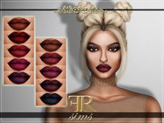Queen Lipstick for The Sims 4