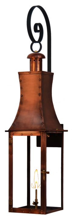 Churchill - Copper Lighting - The CopperSmith - Gas and Electric Lighting