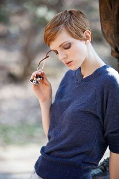 light brown pixie - Google Search