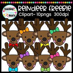 Free Reindeer Clipar
