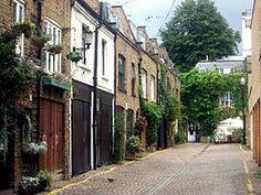 Rue de Notting Hill.