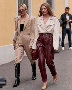 The Best Street Style From Fall 2019 Fashion Weeks Cool Street Fashion, Street Chic, Milan Fashion, Daily Fashion, Fashion Art, Fashion Weeks, Trendy Outfits, Fashion Outfits, Womens Fashion