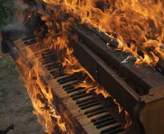 ImageFind images and videos about music, fire and piano on We Heart It - the app to get lost in what you love. Piano, Organization Xiii, Arte Dope, Smoke Damage, Out Of Touch, Parks And Recreation, The Villain, Beautiful Moments, Aesthetic Pictures
