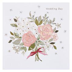 Buy Black Olive Wedding Posy Card Online at johnlewis.com