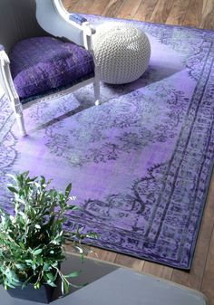 Improve the appearance of your home decor by adding this nuLOOM Vintage Inspired Overdyed Purple Area Rug. Overdyed to maintain a deeper color. Decor, Nuloom, Traditional Rugs, Overdyed, Rugs, Overdyed Rugs, Rugs Usa, Room Rugs, Purple Rug
