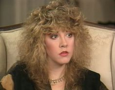 Stevie Nicks The Wild Heart 1983 candid