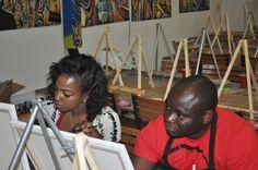 Atlanta BYOB paint and party art class. Wine and paint art class. Adult paint party