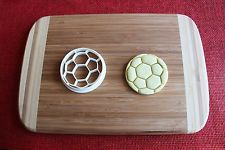 Soccer Ball Cookie Cutter Football Sports Cake Topper Fondant Cutter Cupcake in Home, Furniture & DIY, Cookware, Dining & Bar, Baking Accs. & Cake Decorating, Cookie Cutters | eBay