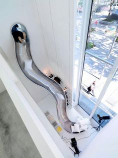 Indoor Slide... yes please!! :-)
