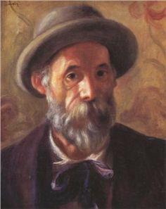 Pierre-Auguste Renoir (French: 1841-1919) - Self Portrait