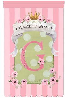 Le Petite Princess Personalized Wall Hanging by Dish and Spoon Productions