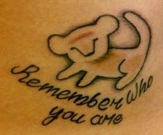 Remember who you are - Click image to find more tattoos Pinterest pins