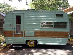 1963 13' Winnebago antique vintage canned ham camping trailer restored very nice in RVs & Campers | eBay Motors