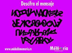 UNIDAD DE MEMORIA.                                    ENTRENAMIENTO CEREBRAL: Descifra el mensaje 3-3-2015