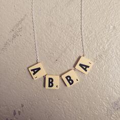 #scrabble #alfapet #abba #music #black #yellow #nordicdesign #alexandrainn