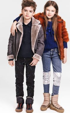H&M are the latest company to put out a Mini Me kids fashion collection. These are real shrunk versions of the adult lines similar to the designer versions