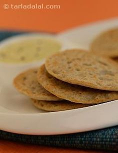 The popular south indian preparation is made healthier with the addition of iron-rich jowar. Serve these uttapams with coconut chutney to relish it the most.