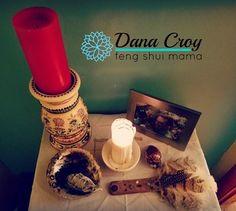 Feng Shui Mama, Dana Croy, Home Altar and Sacred Space Home Altar, My Calendar, Altars, Feng Shui, Space, Floor Space, Altar