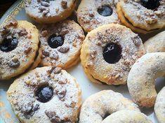 Citromos, lekváros linzer és kifli My Recipes, Recipies, Small Cake, Cookie Jars, Doughnut, Biscuits, Muffins, Cookies, Food