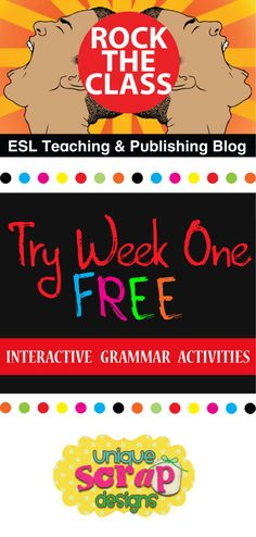 Check out Danna Rodebush's guest post on the Kinney Brothers Publishing blog!  She has a great deal on an Interactive Grammar Activity bundle!