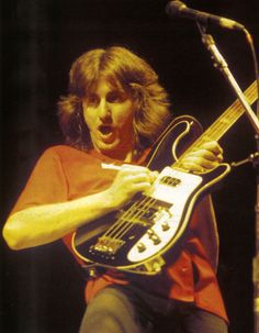 Geddy Lee is the Canadian bass player, musician and leaqd vocalist of the rock band Rush,