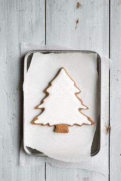 Christmas tree cookie by Ruth Black