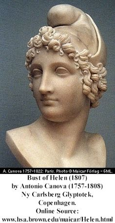 Helen of Sparta was perhaps the most inspired character in all literature, ancient or modern. A whole war, one which lasted for ten years, was fought over her.