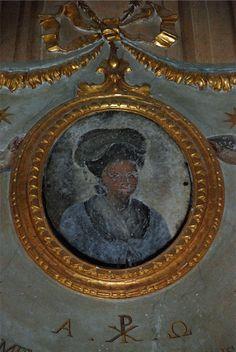 Oratorio SS. Maria e S. Ranieri Crespina La contessa Giovanna prima del restauro