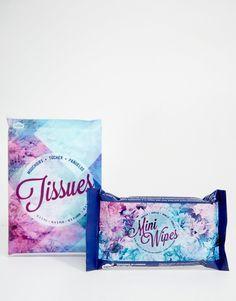 Wonderland - Kosmetiktücher und Feuchttücher Tücher und Minitücher x10 Minitücher mit Vanilleduft x10 3 Tücher