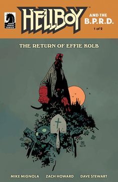 Mike Mignola Brings Hellboy Back to Appalachia in 'The Return of Effie Kolb' Comic Book Artists, Comic Books, Crooked Man, Devil You Know, Found Object Art, Mike Mignola, Buffy The Vampire, Science Fiction Art, Comic Book Covers