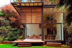 casas de madeira e vidro - Pesquisa Google