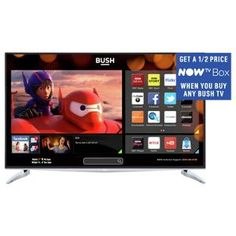 Buy Bush 40 Inch 4K UHD Freeview HD Smart LED TV at Argos.co.uk, visit Argos.co.uk to shop online for Limited stock Technology, Televisions and accessories, Televisions
