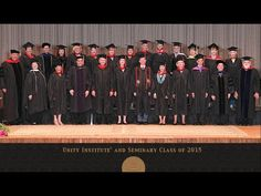 Unity Institute and Seminary: Graduation 2015