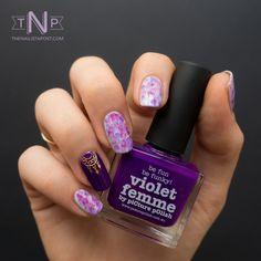 Manucure Violet Femme