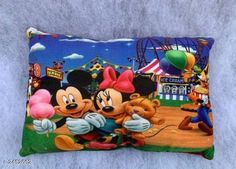 Pillows Trendy Velvet Baby Pillow Material: Pillow - Velvet Filling - Fiber  Size ( L x W ): 18 in x 12 in Description: It Has 1 Piece Of Baby Pillow With Pure Fiber Filling  Work: Printed Country of Origin: India Sizes Available: Free Size   Catalog Rating: ★4 (483)  Catalog Name: Priya Trendy Velvet Baby Pillows Vol 1 CatalogID_328976 C53-SC1105 Code: 951-2452662-003