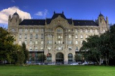 The Art Nouveau Gresham Palace - home to the luxurious Four Seasons Hotel Budapest