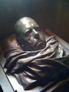 death mask of Sir Walter Raleigh