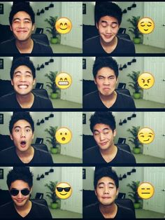 Ryan higa is love. Ryan higa is life <3 Look how cute he looks! Exactly like those smilies ♡~♡