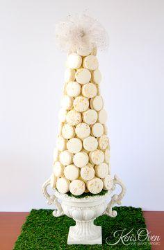 Macaron tower by Craftsy member Kendari Gordon