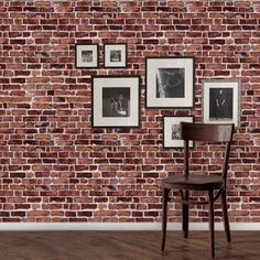 Red Brick Wallpaper peel n stick!